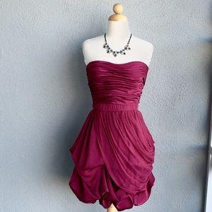 BEBE bright Fuchsia Dress Size M